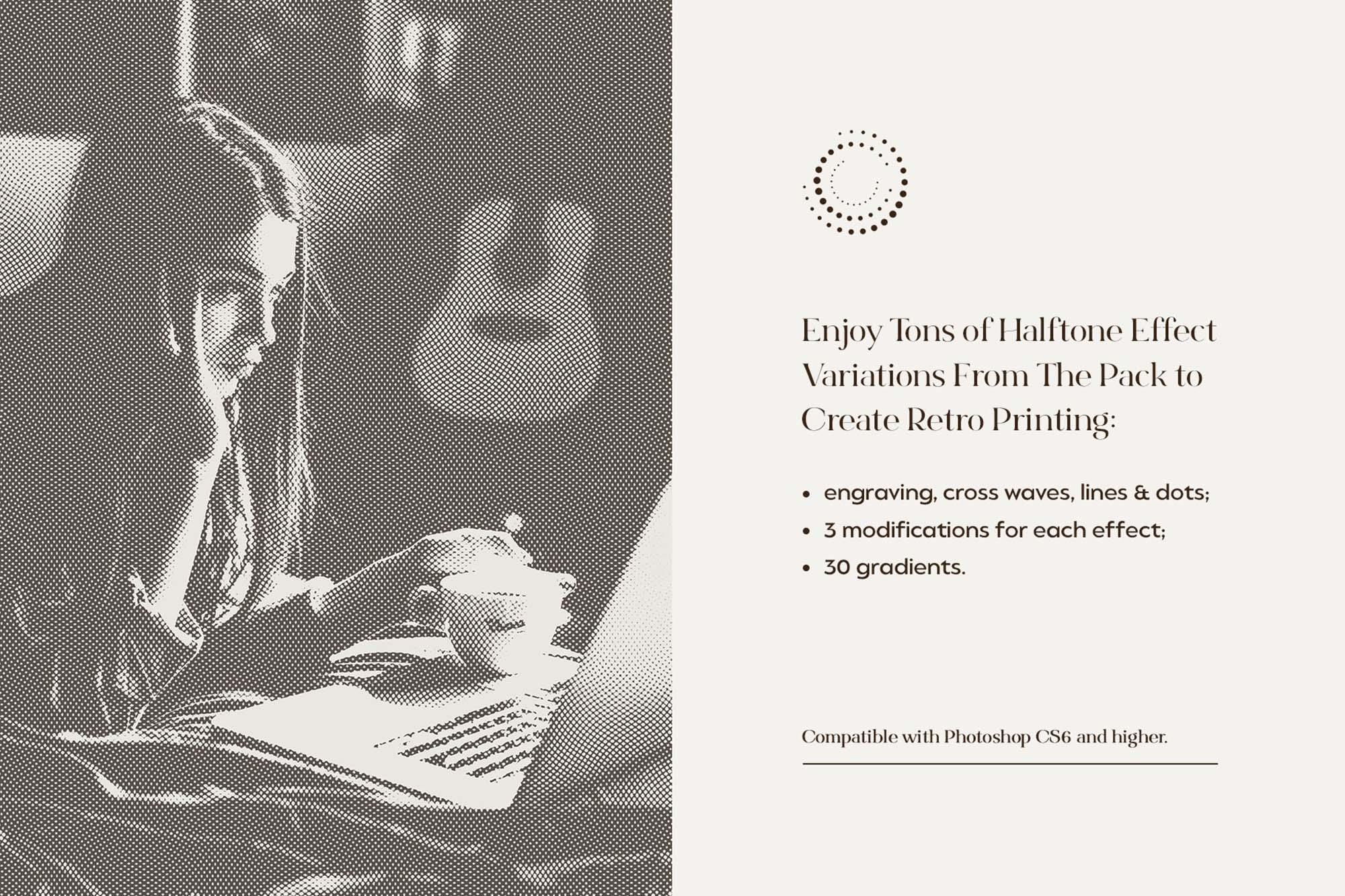 Engraving & Halftone Effect Creator 2