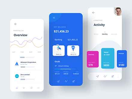 Finance App UI Template