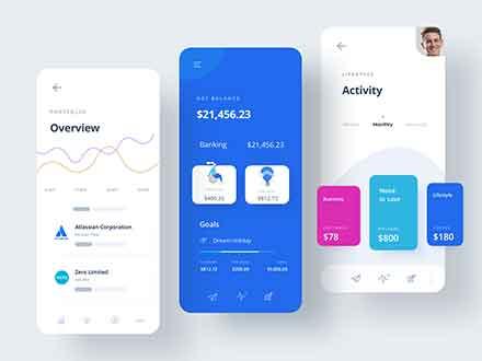Finance App UI Template