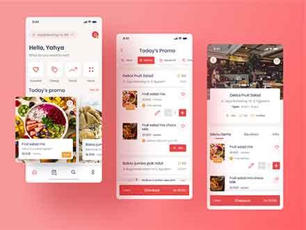 Food Ordering App Template