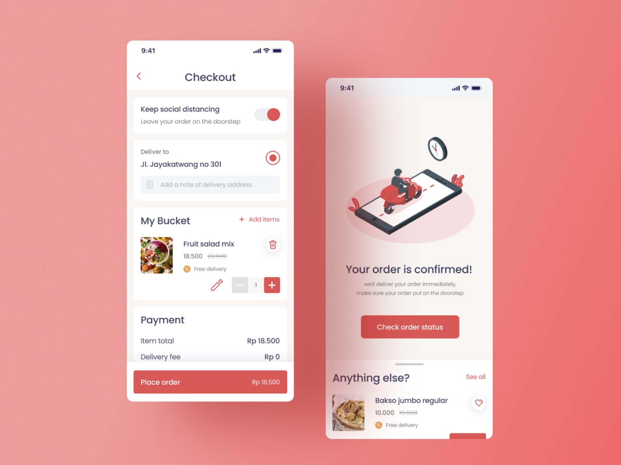 Food Ordering App Template 2