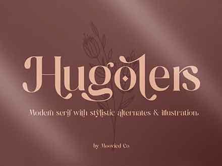 Hugolers Serif Font