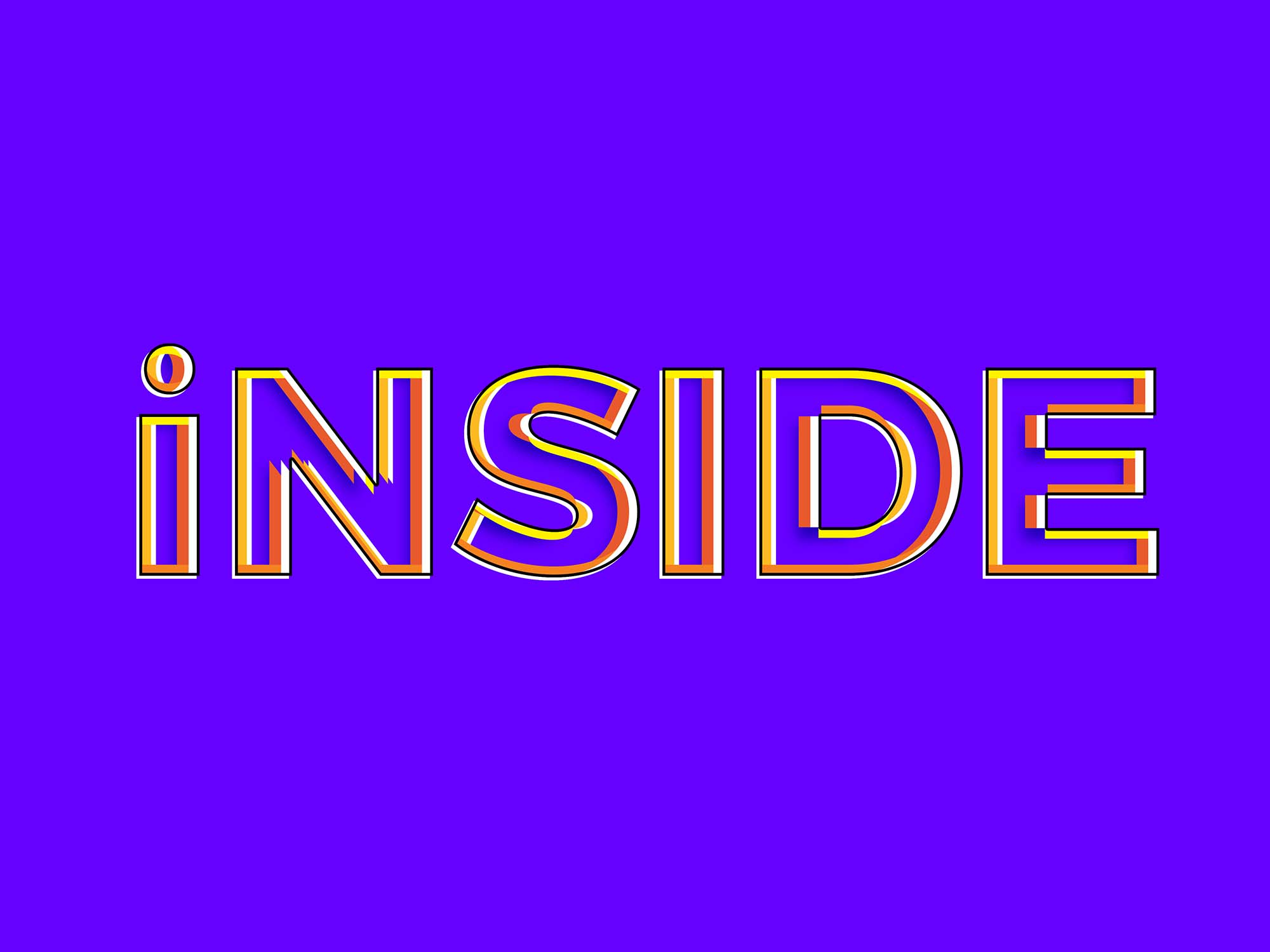 Inside Photoshop Text Effect