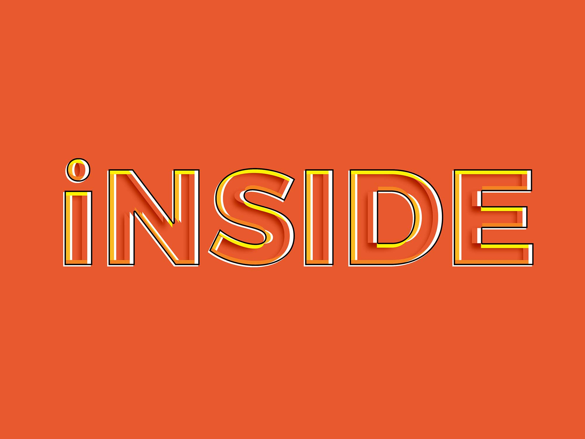 Inside Photoshop Text Effect 2