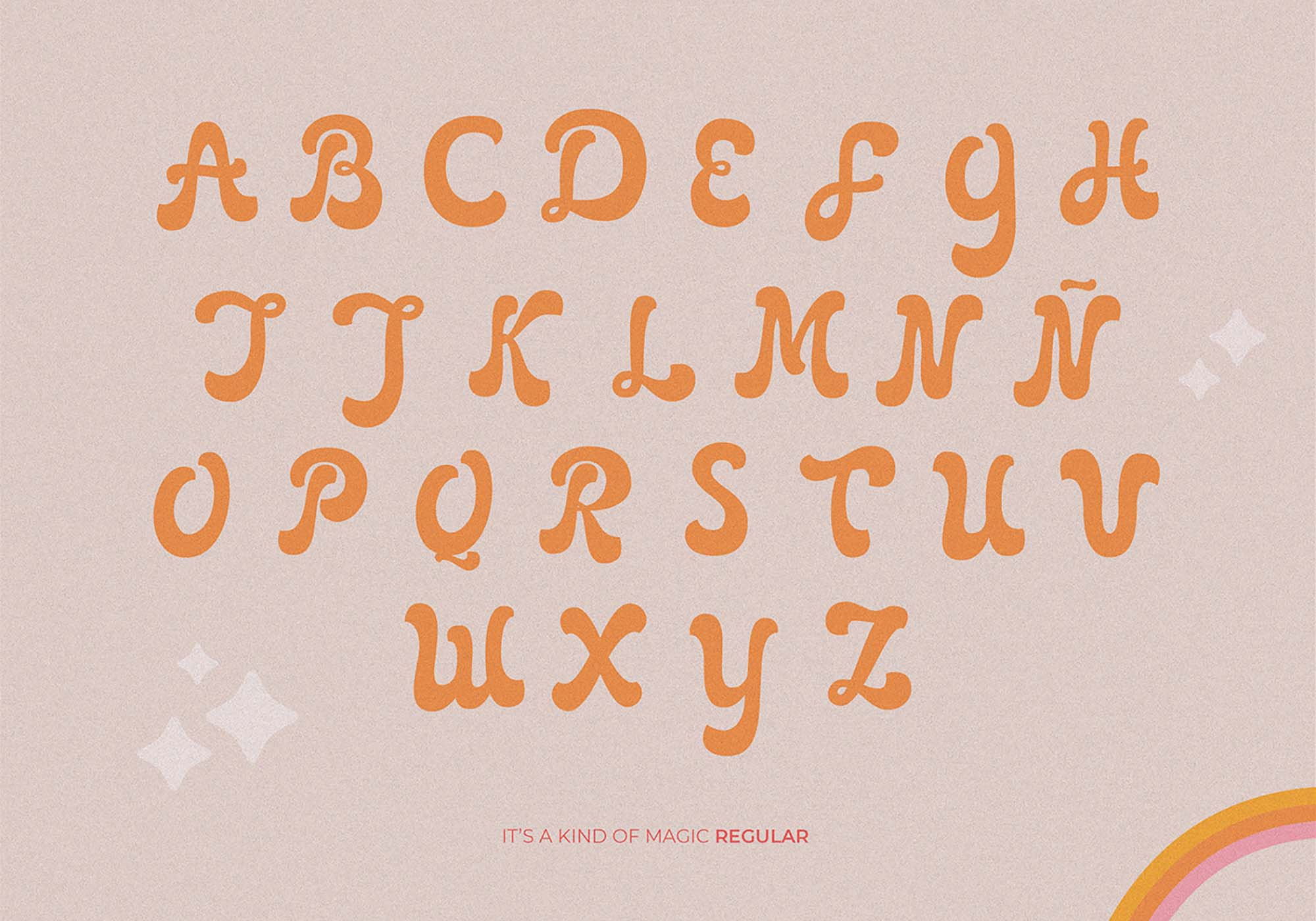 It's Kind of Magic Retro Font 3