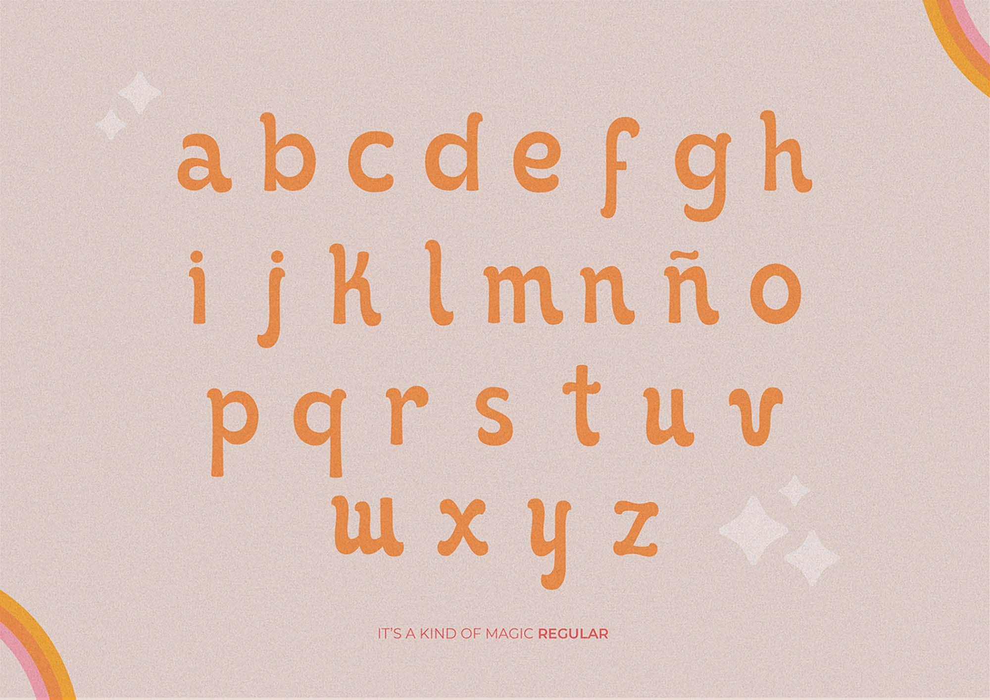 It's Kind of Magic Retro Font 4