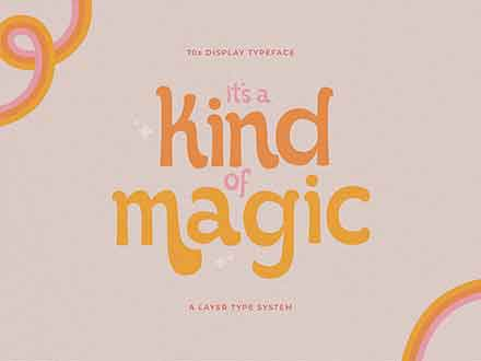 It's Kind of Magic Retro Font