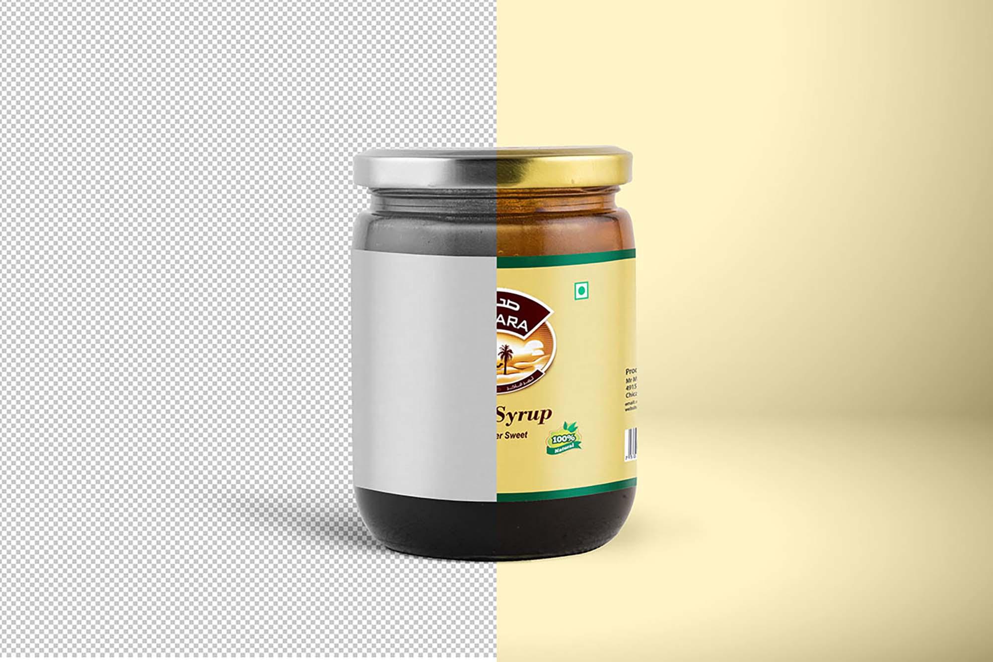 Jam Jar Mockup 1