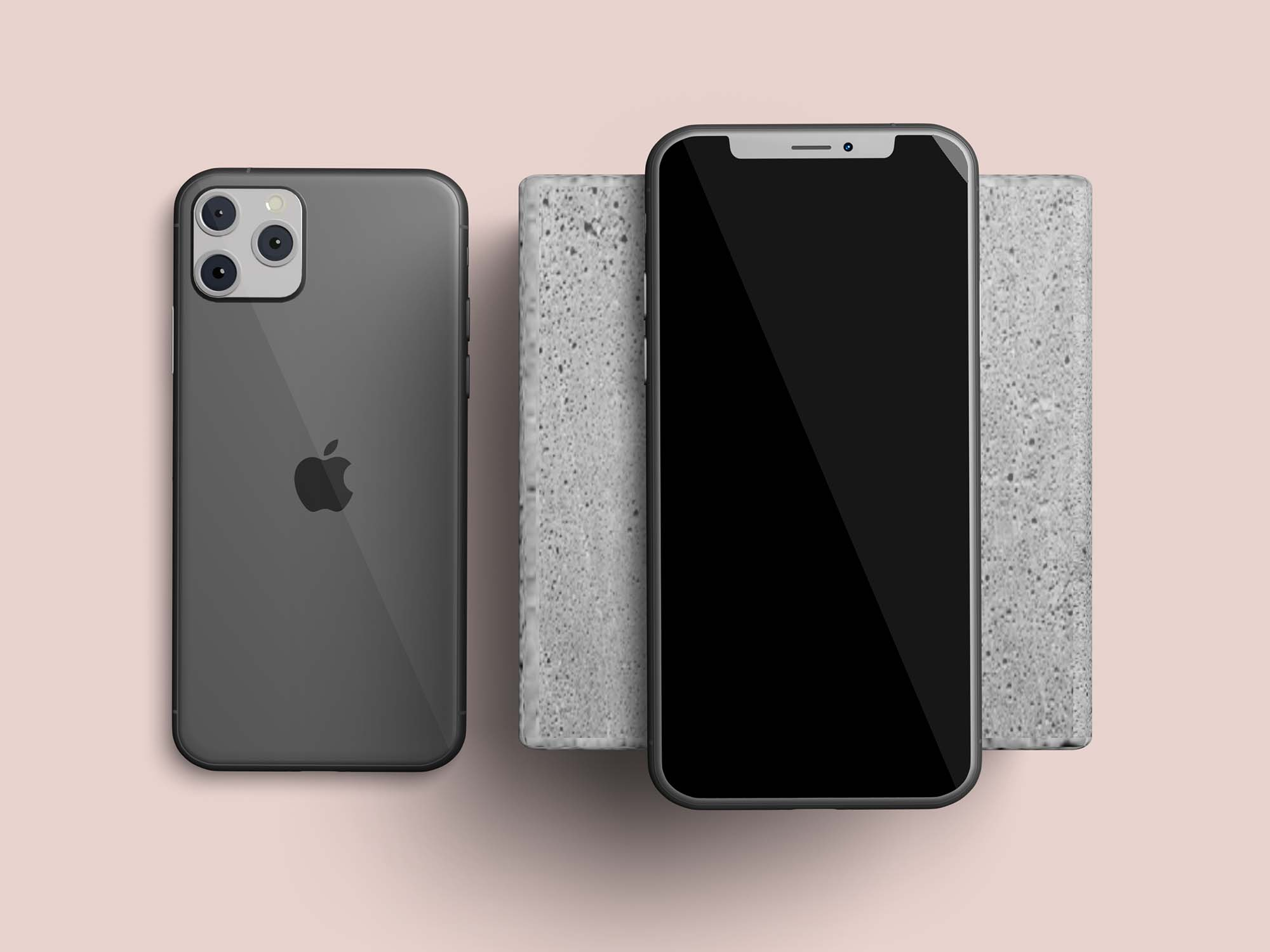 Layered iPhone 11 Mockups