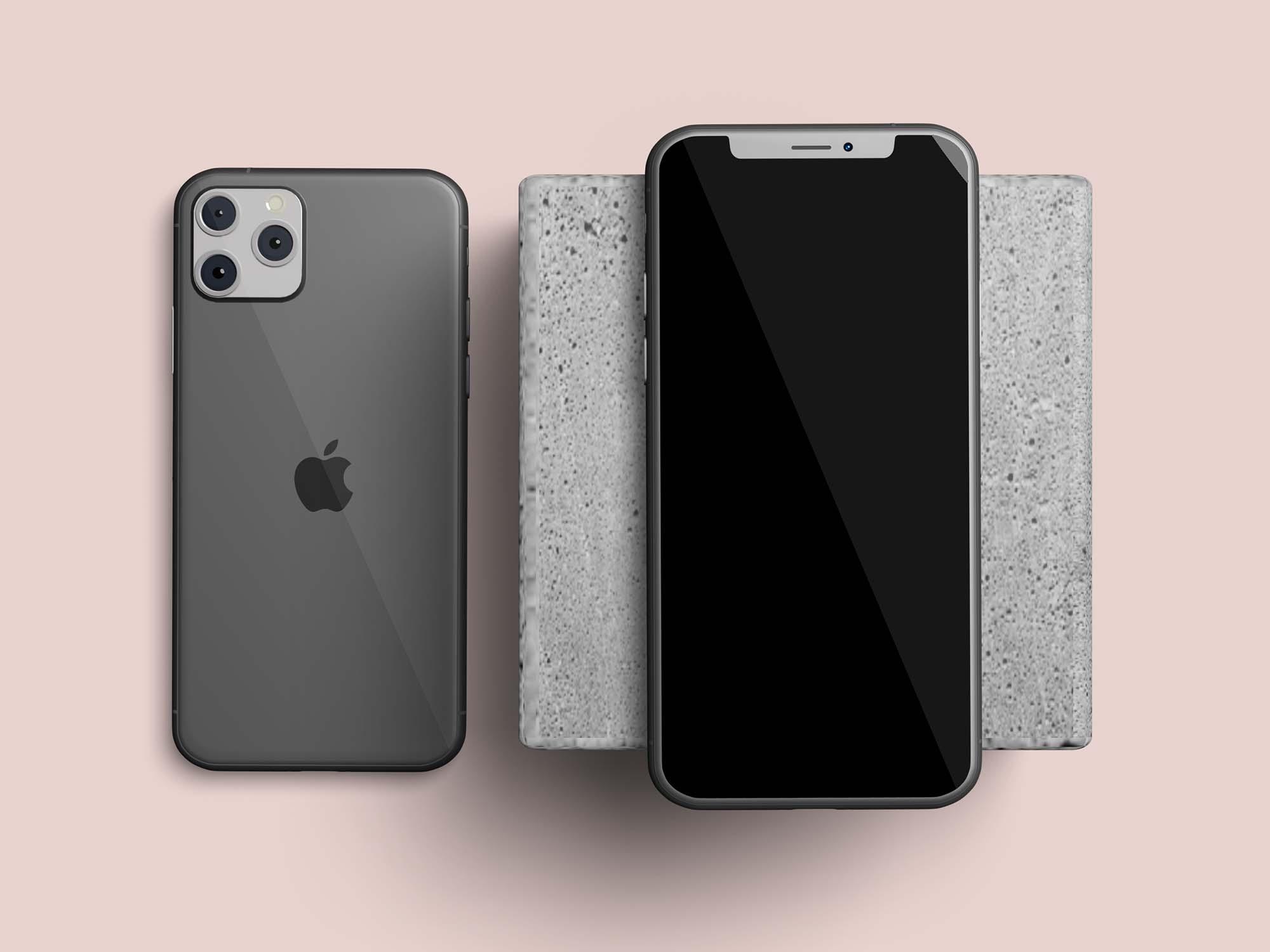Layered iPhone 11 Mockups