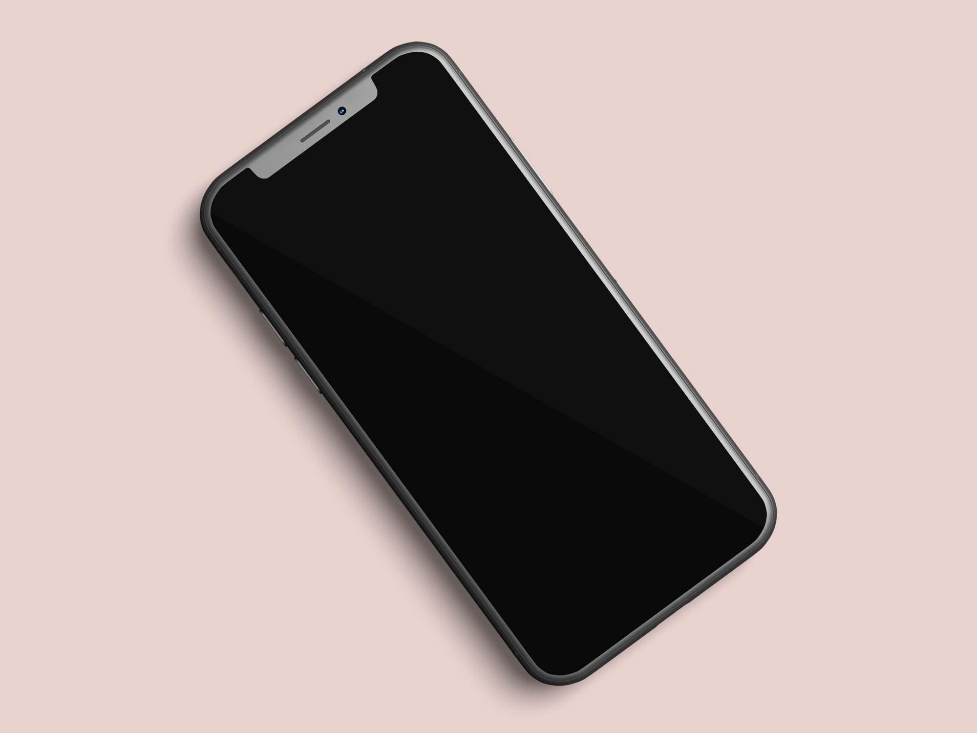 Layered iPhone 11 Mockups 2