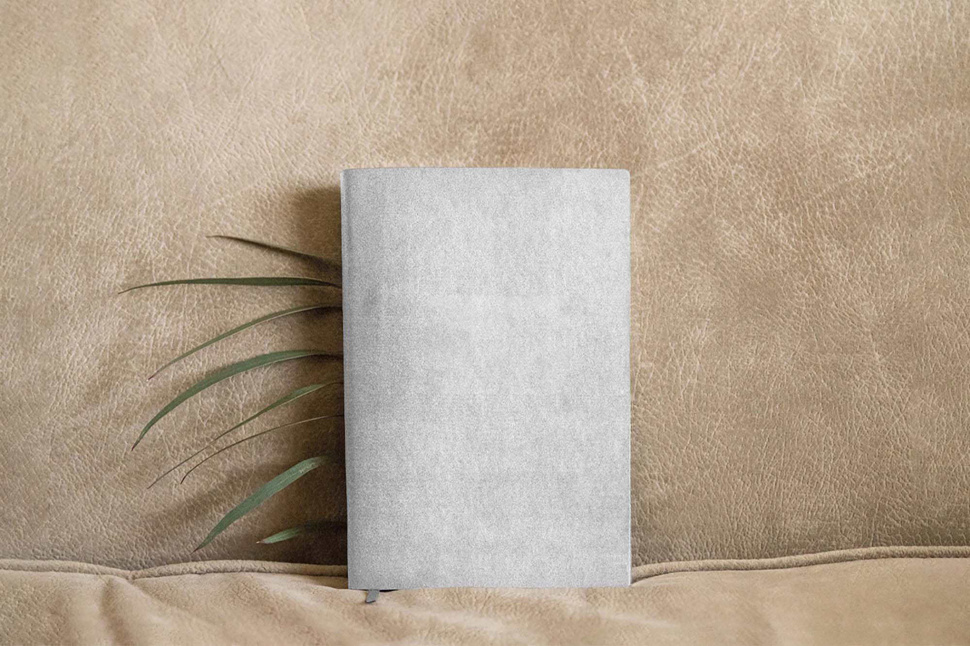 Leather Notebook Mockup 2