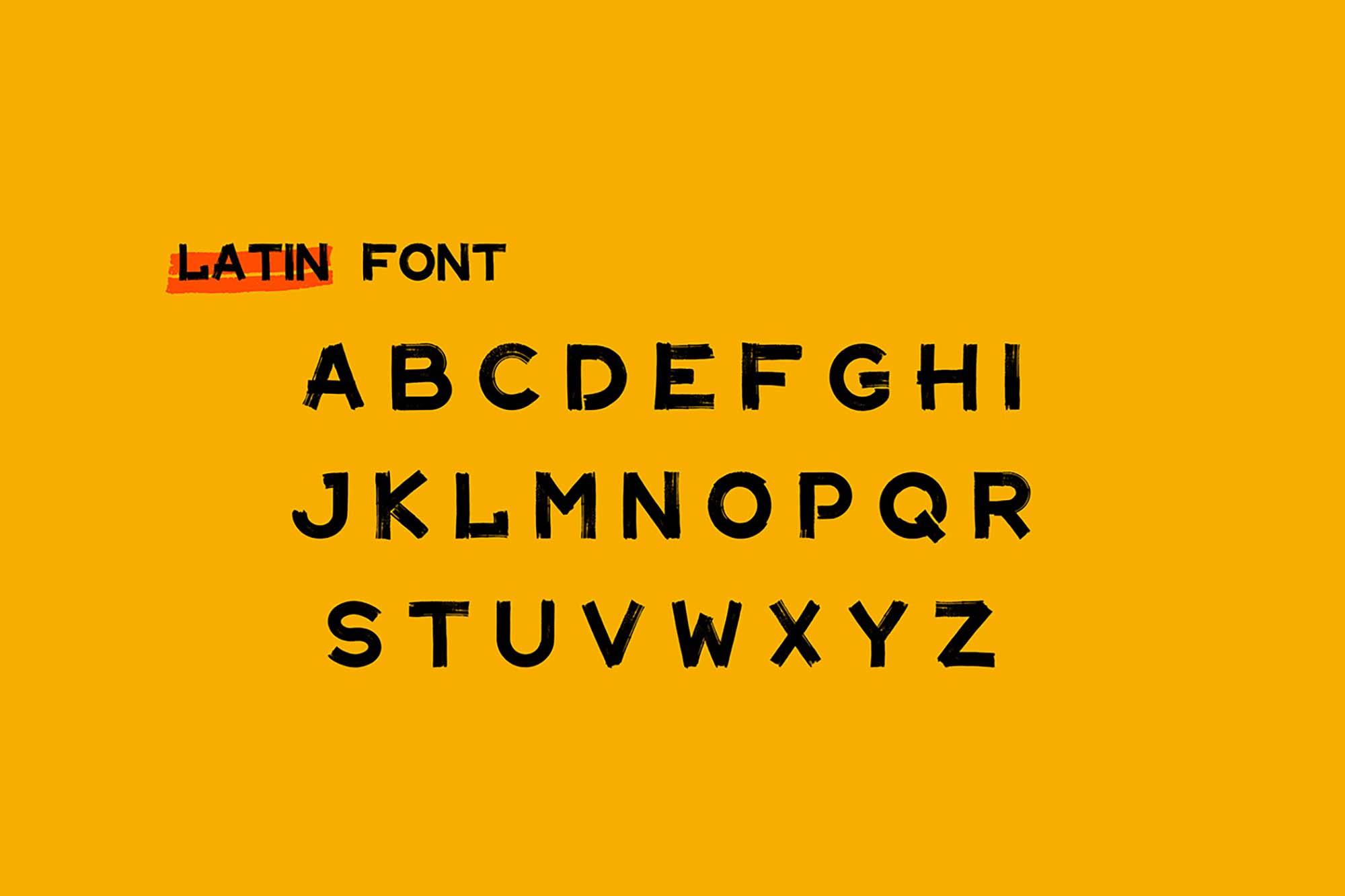 Maler Display Font 3