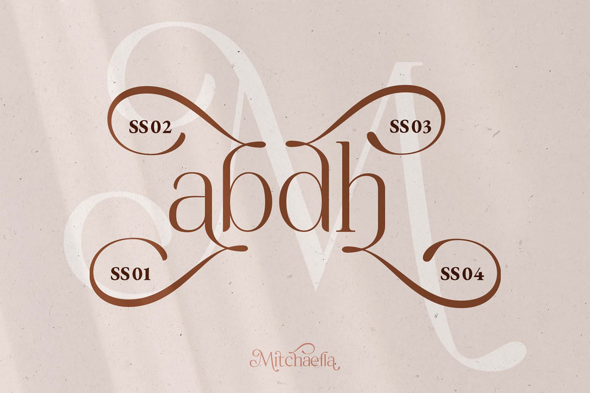 Mitchaella Serif Font 11