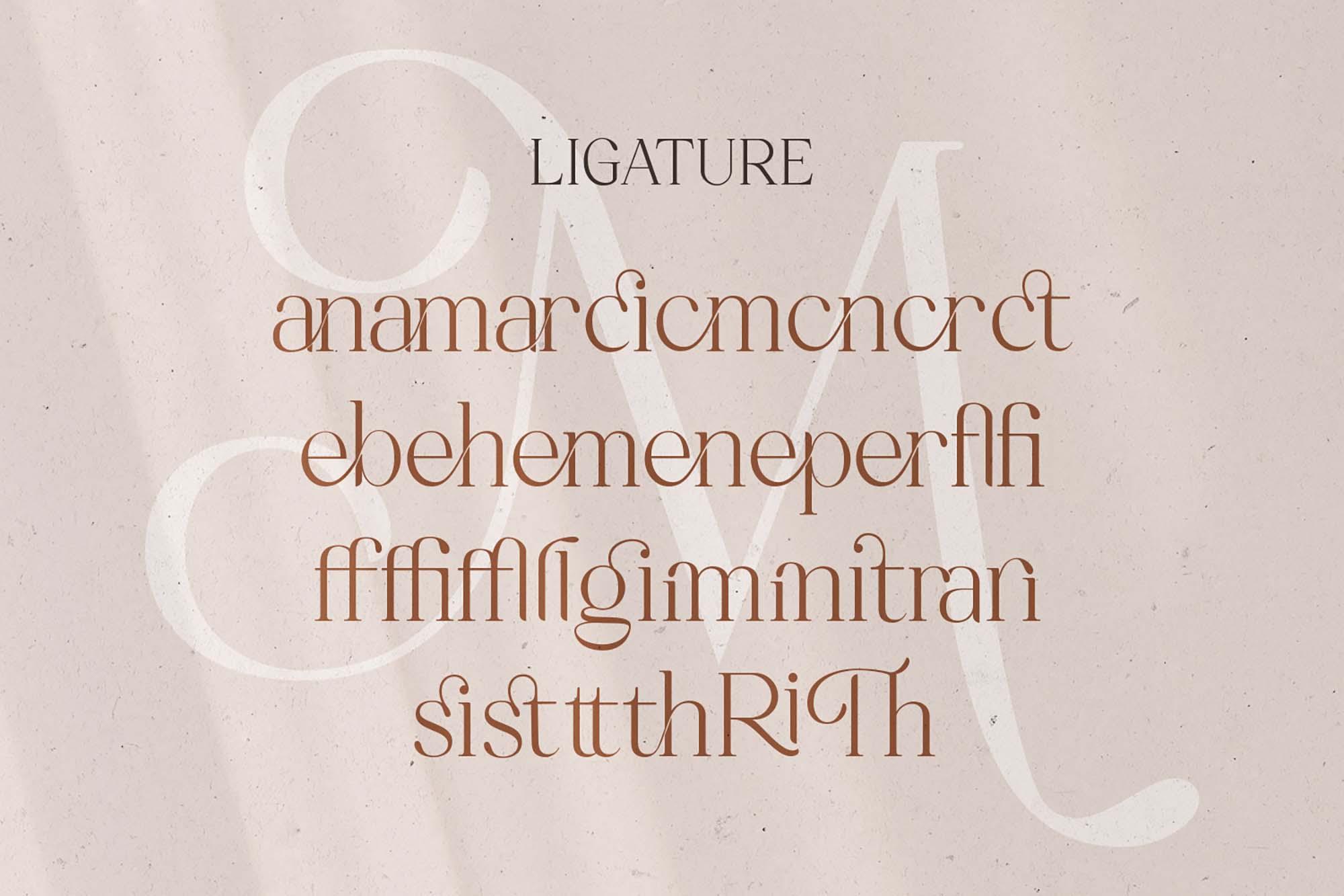 Mitchaella Serif Font 12