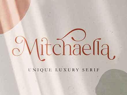 Mitchaella Serif Font