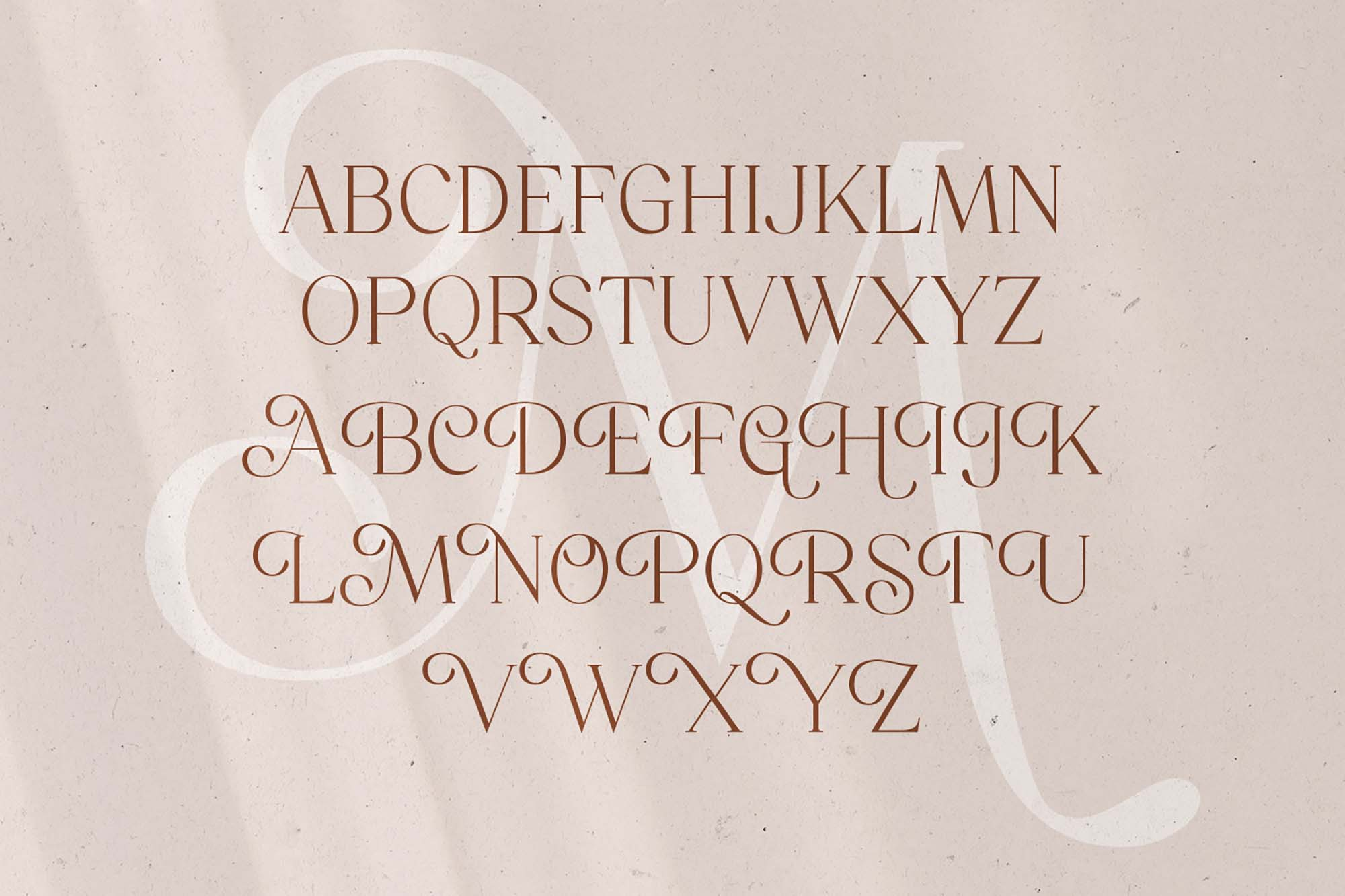 Mitchaella Serif Font 9