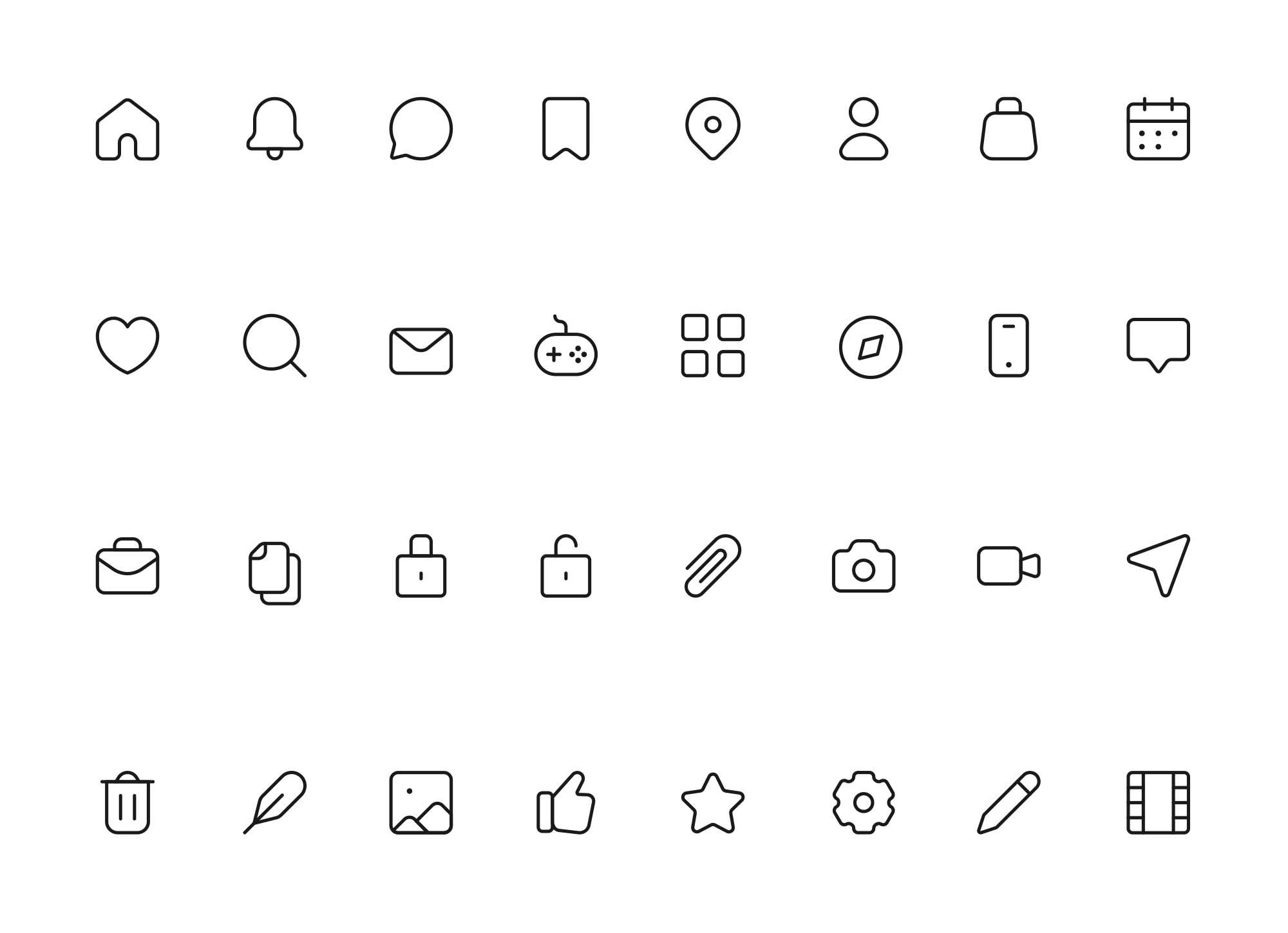 Multipurpose Icons
