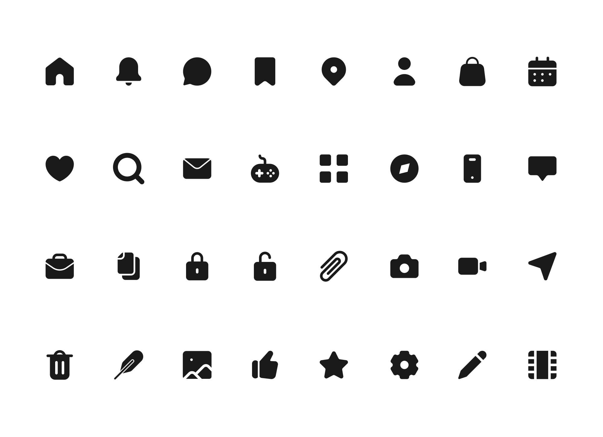 Multipurpose Icons 2