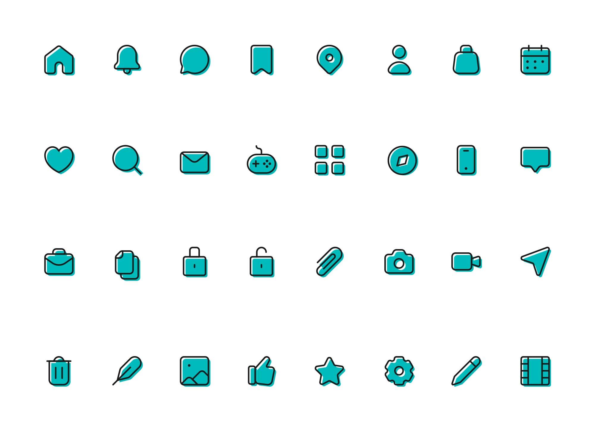 Multipurpose Icons 3