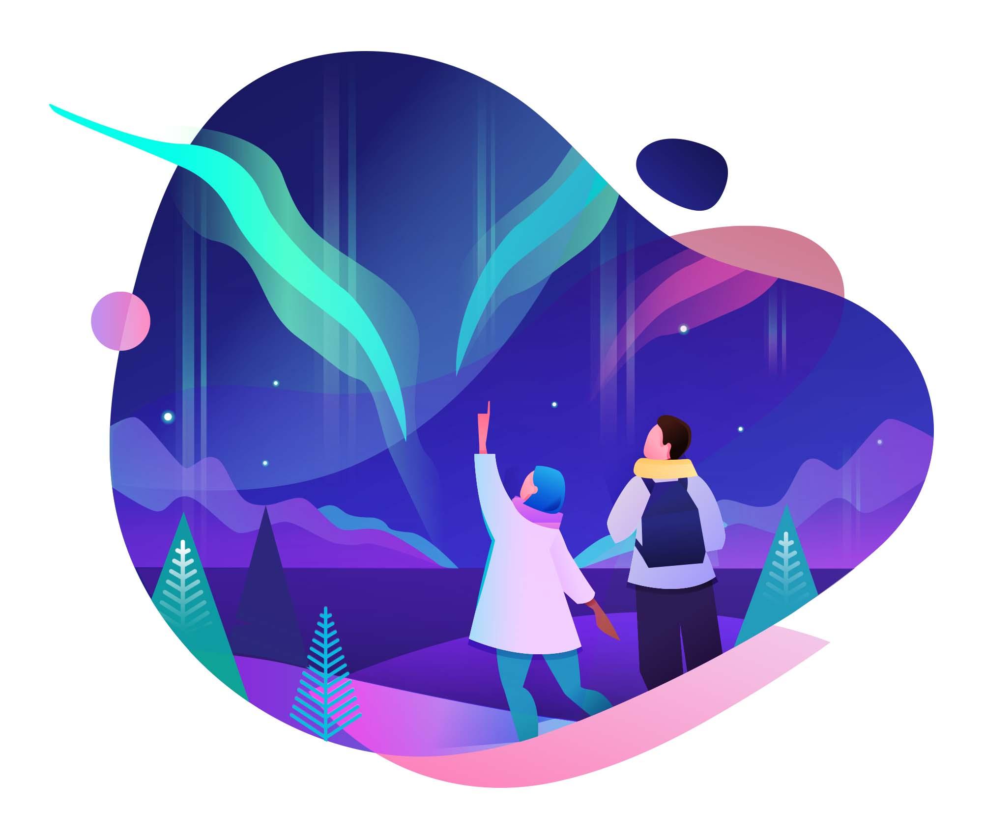 New Year Vector Illustrations 4