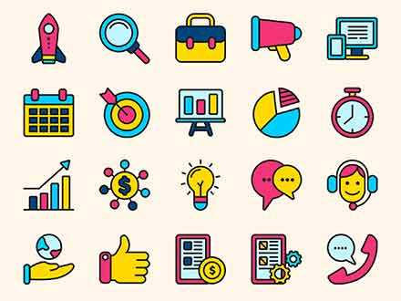 Startup Vector Icons
