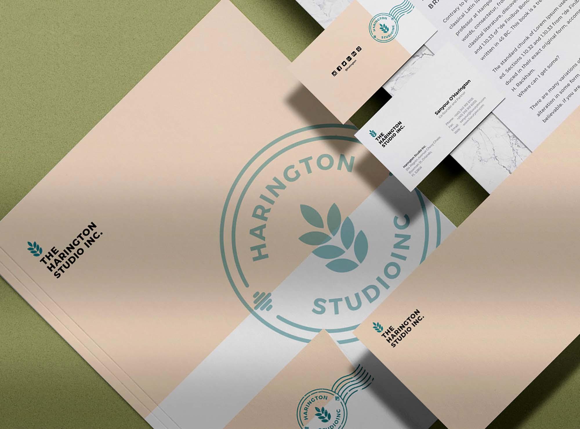 Stationery Branding Mockup 2