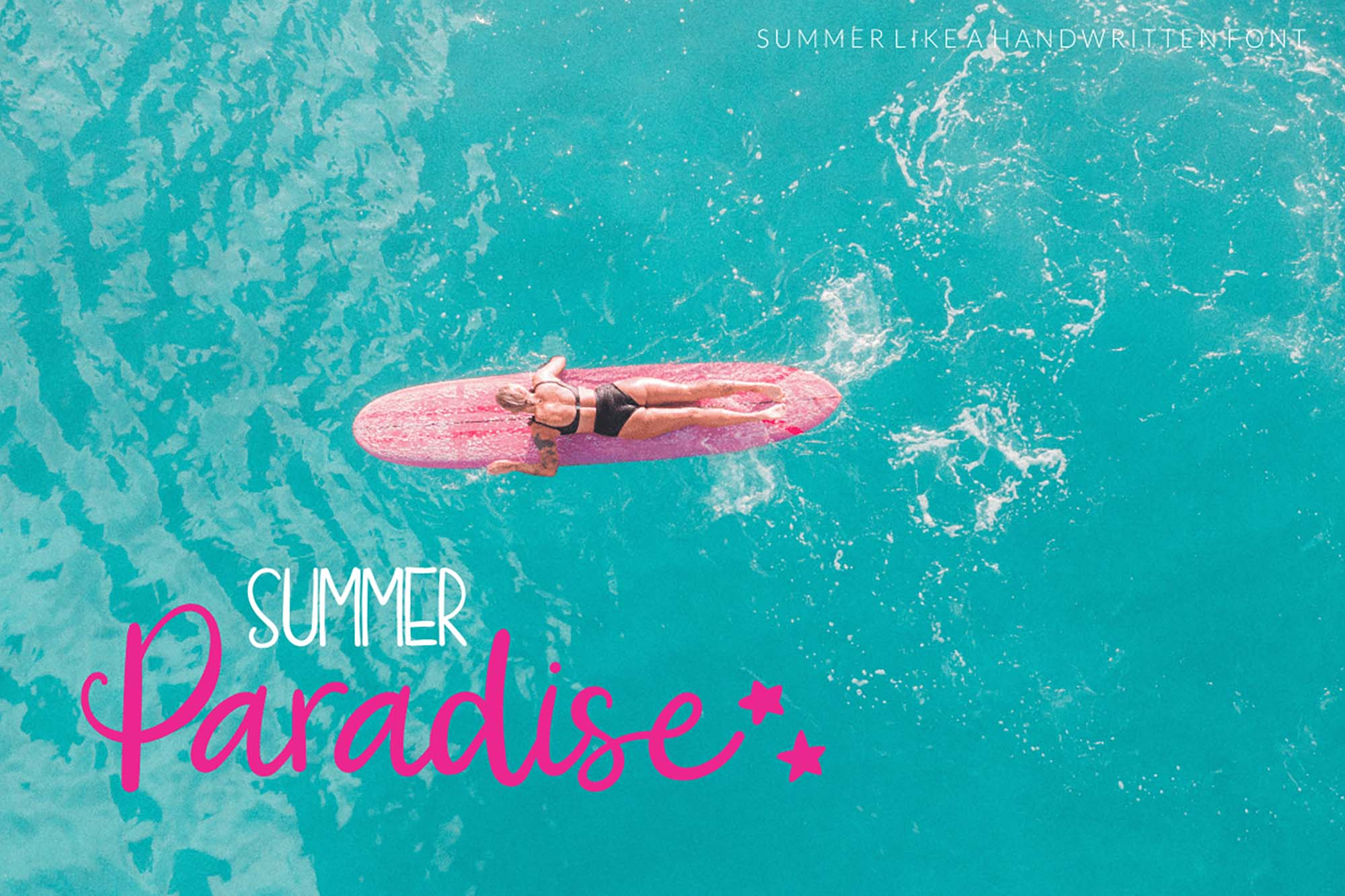 Summer Like Font 3