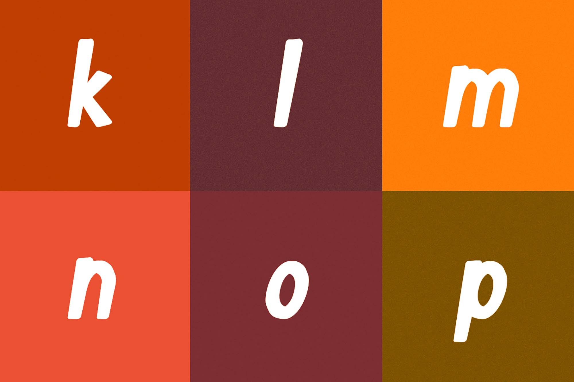 Tapioca Typeface 7