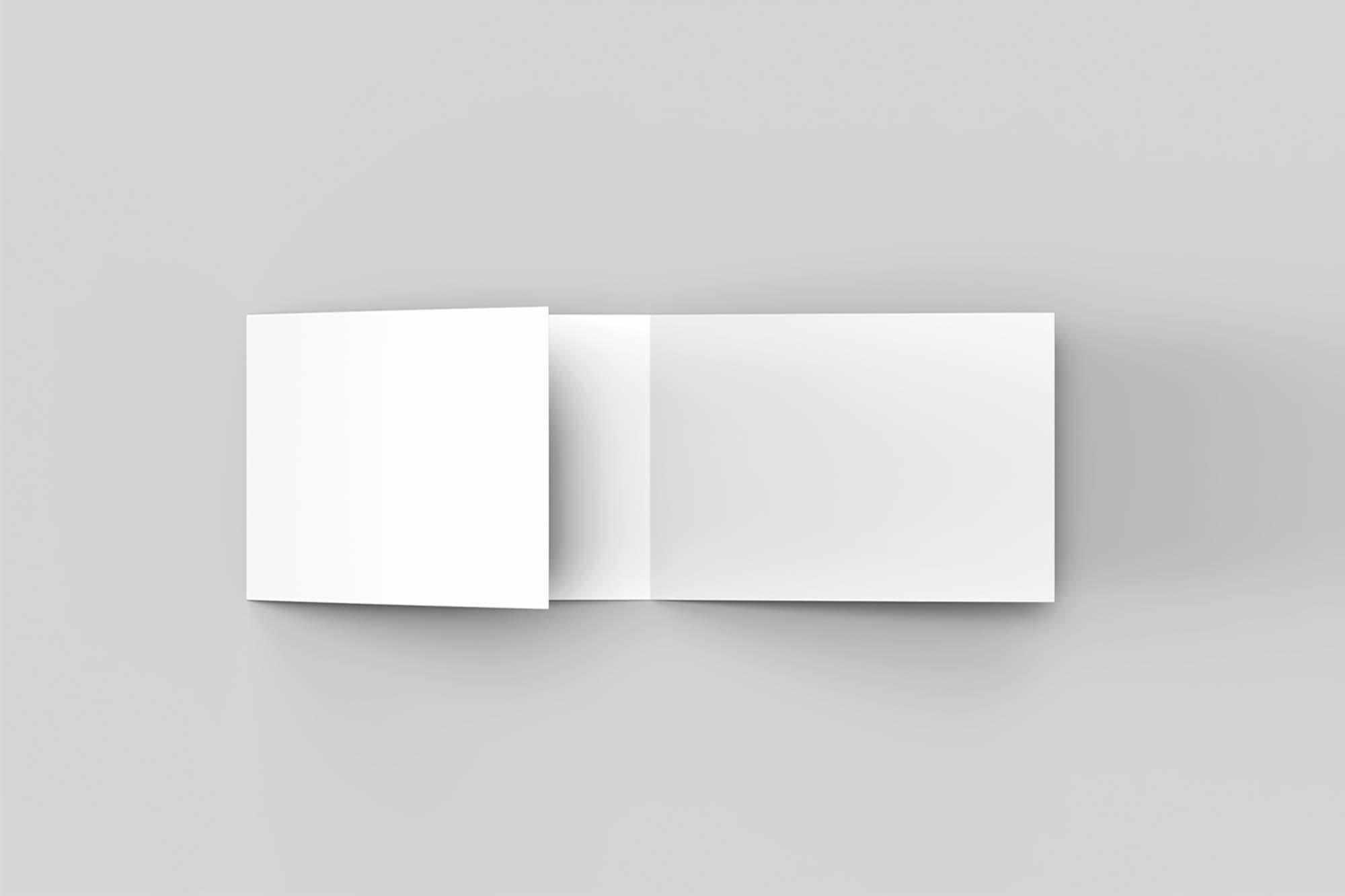 Trifold Landscape Brochure Mockup 2