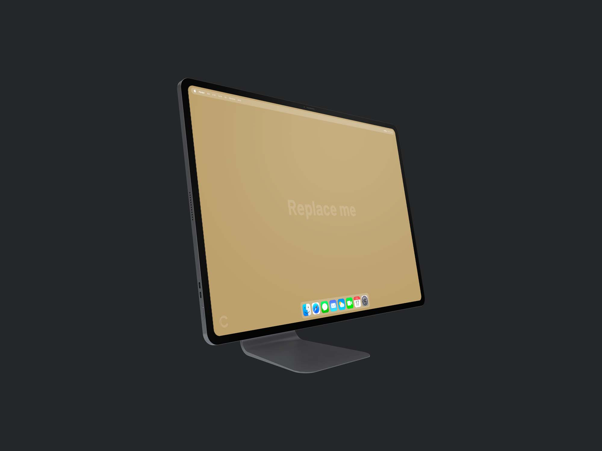 iMac Pro Mockup Concept