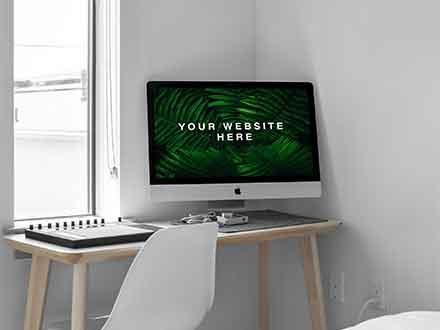 iMac in Room Mockup