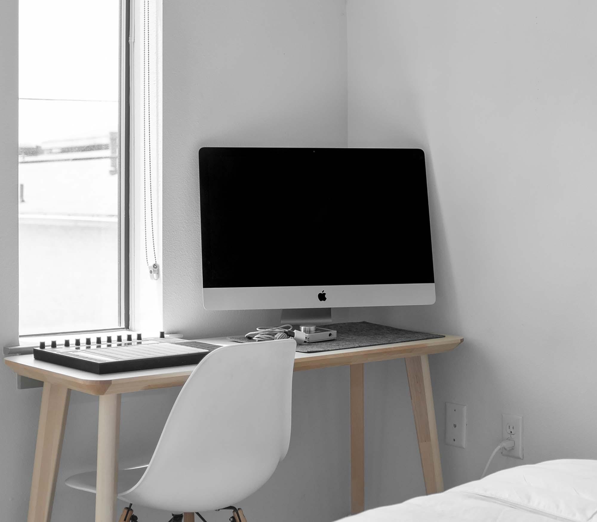 iMac in Room Mockup 2
