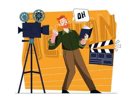 Actor Vector Illustration