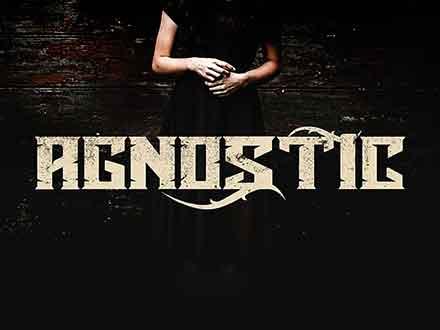 Agnostic Display Font
