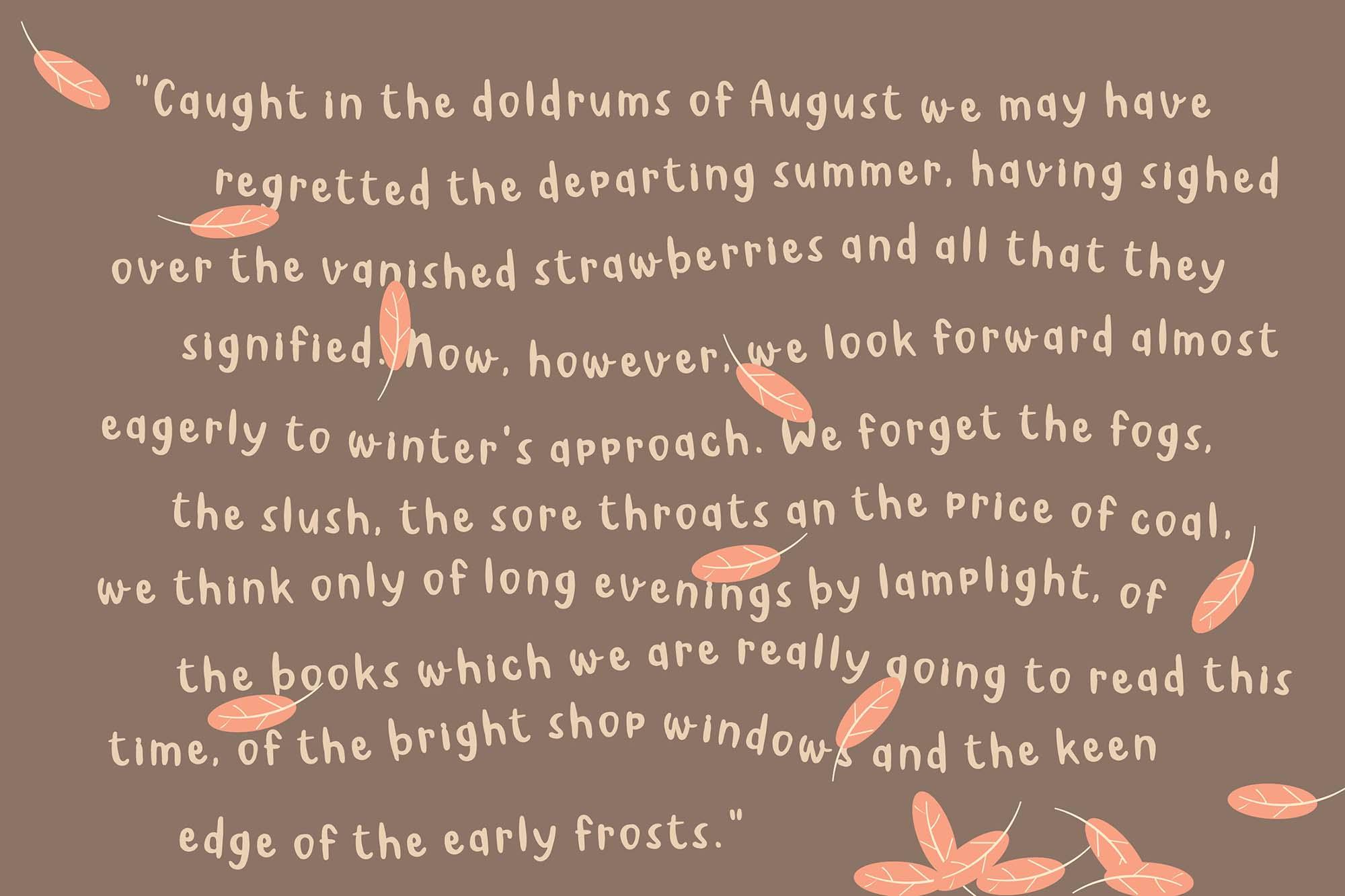 August Font 3