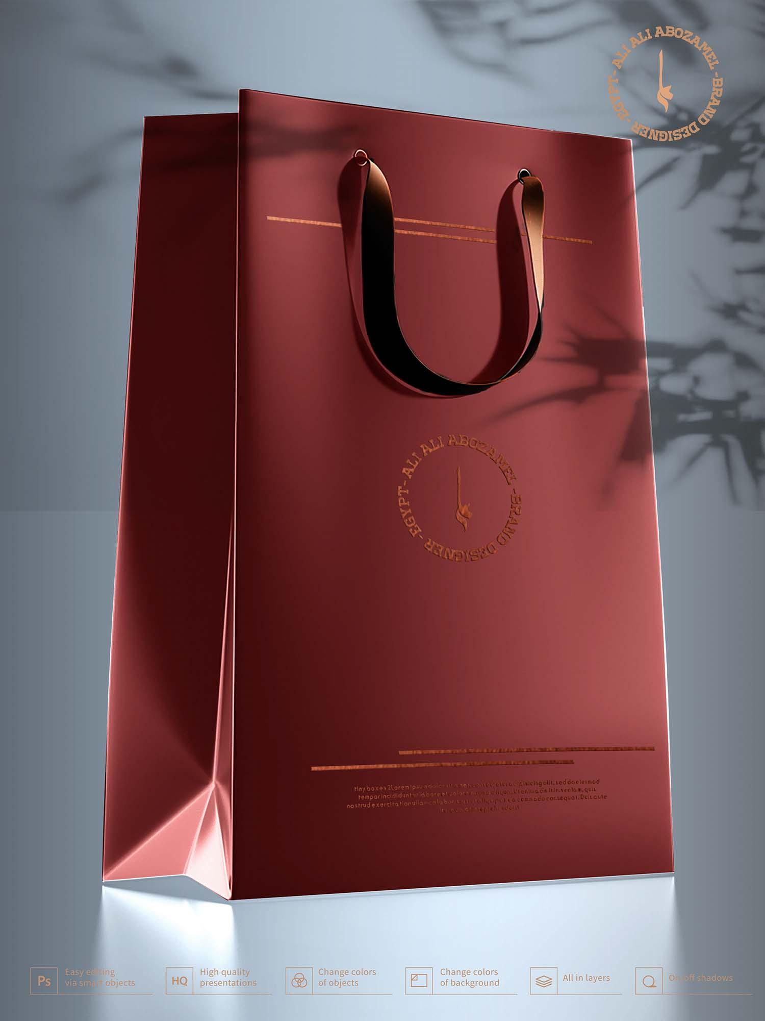Bag Box Mockup