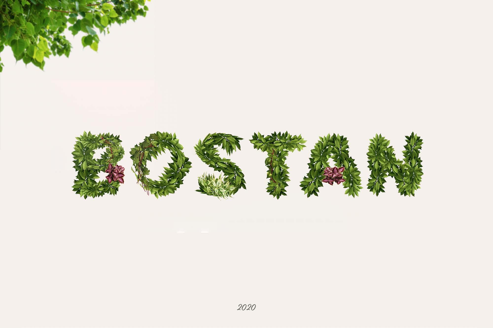 Bostan Typeface