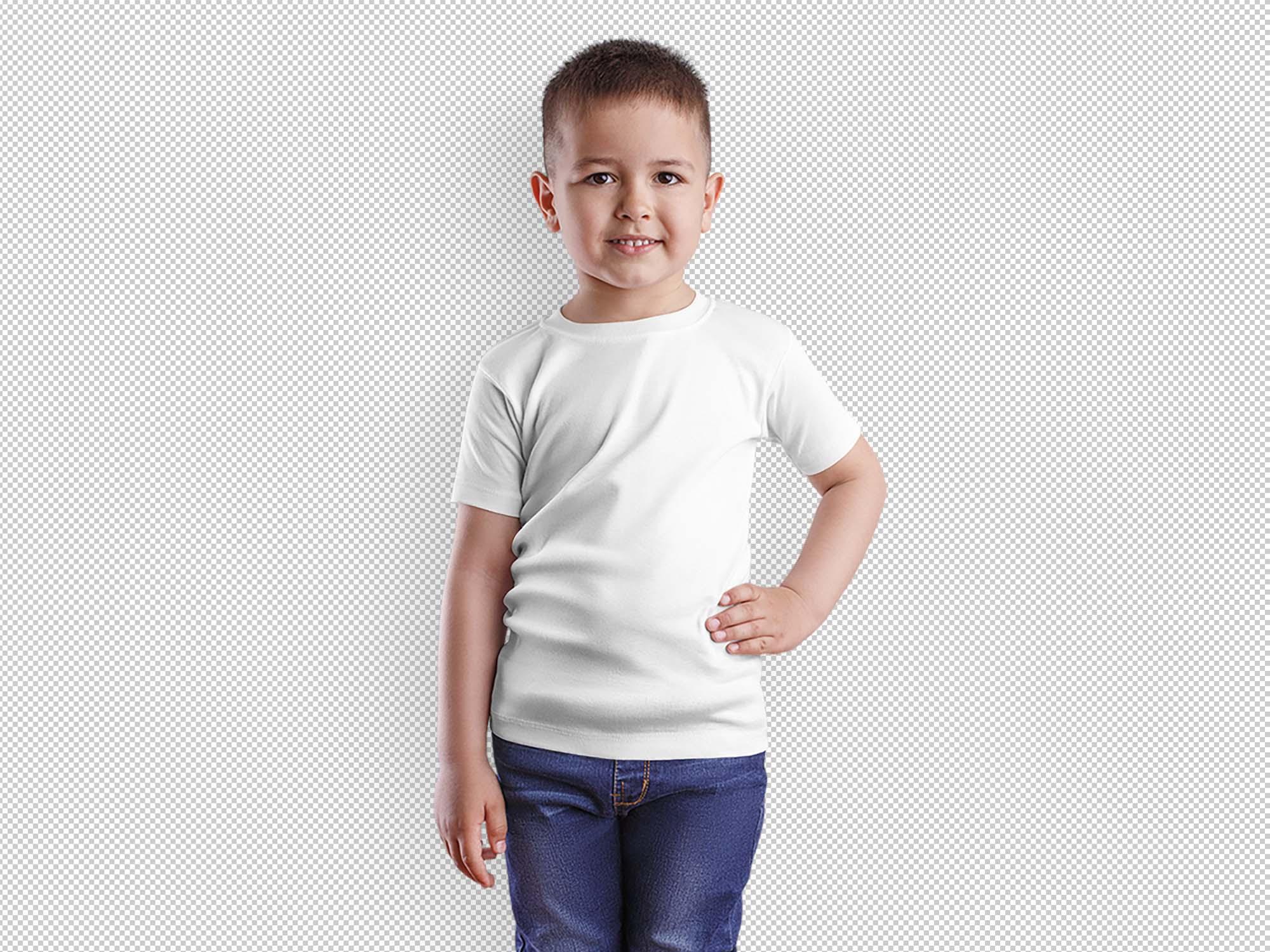 Boy T-Shirt Mockup 2