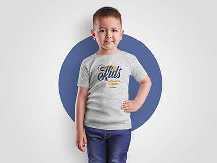 Boy T-Shirt Mockup