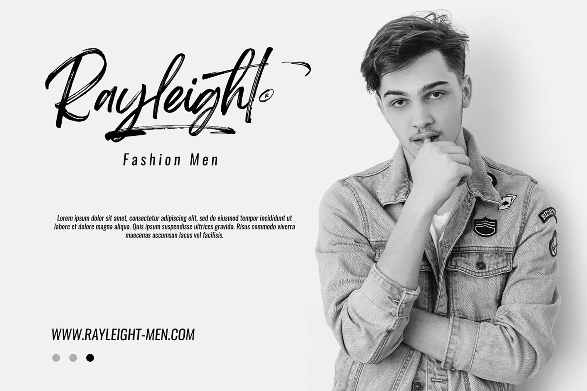 Brightwall Brush Font 5
