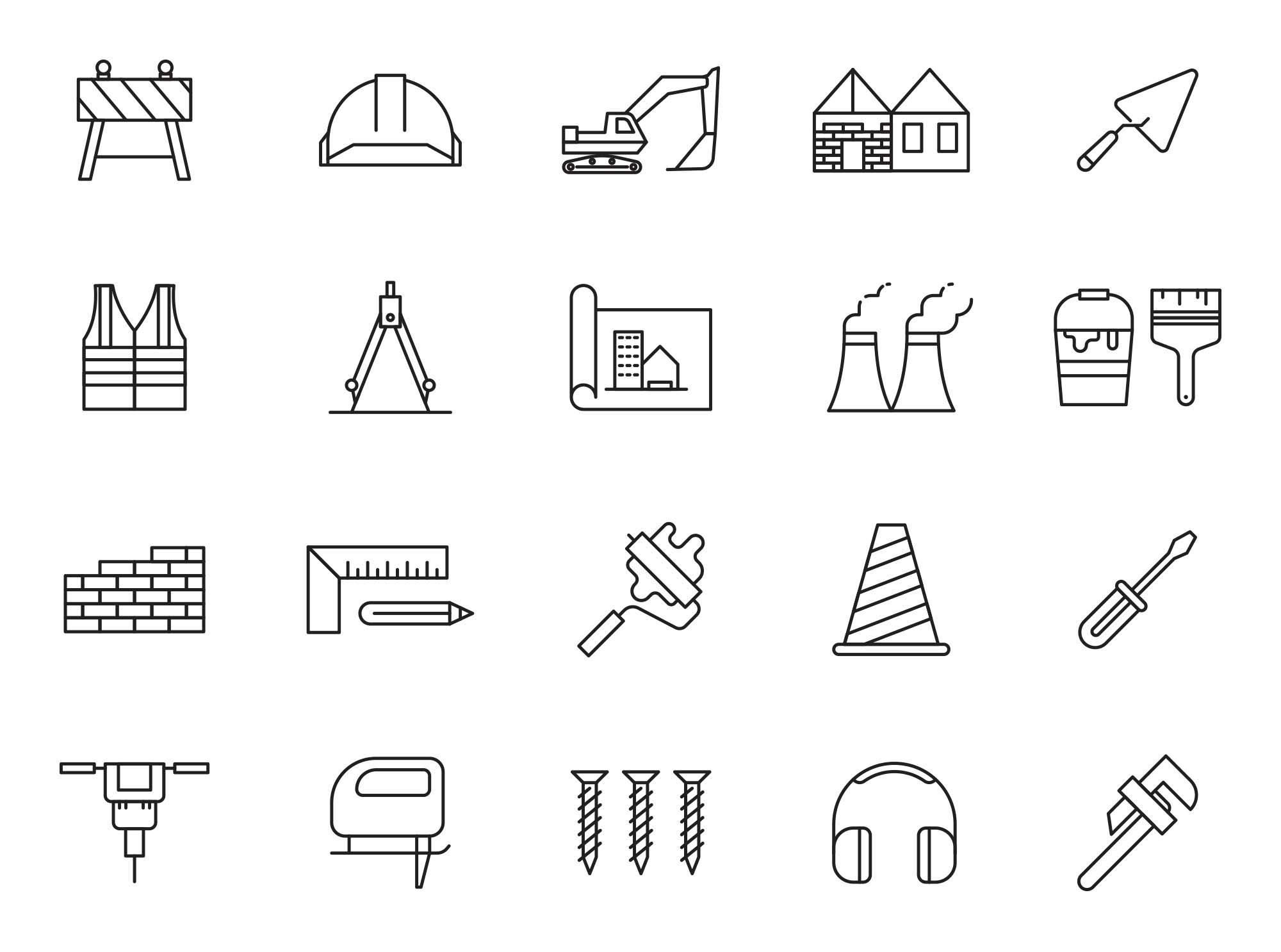 Constructions Icons 1