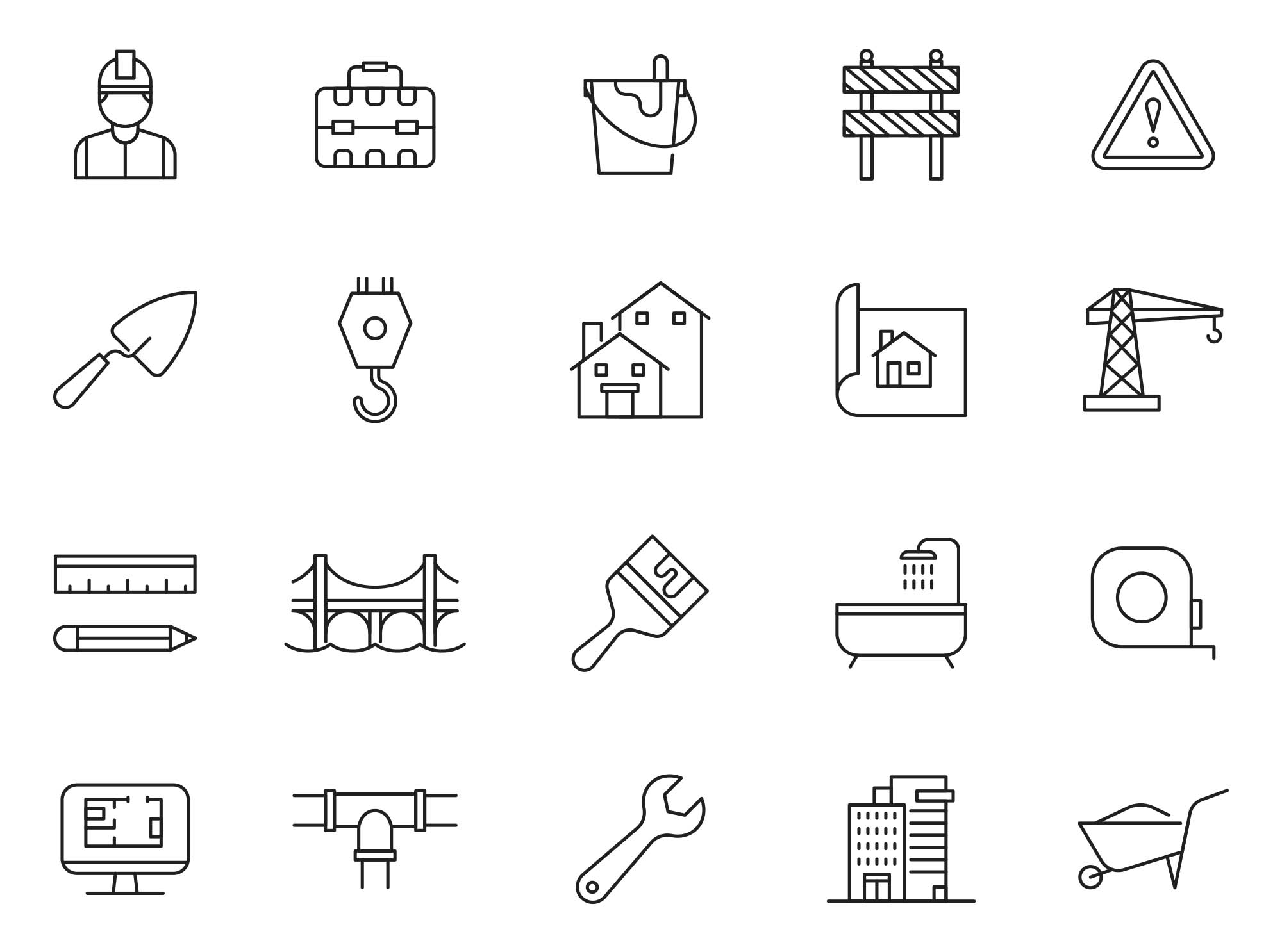 Constructions Icons 2