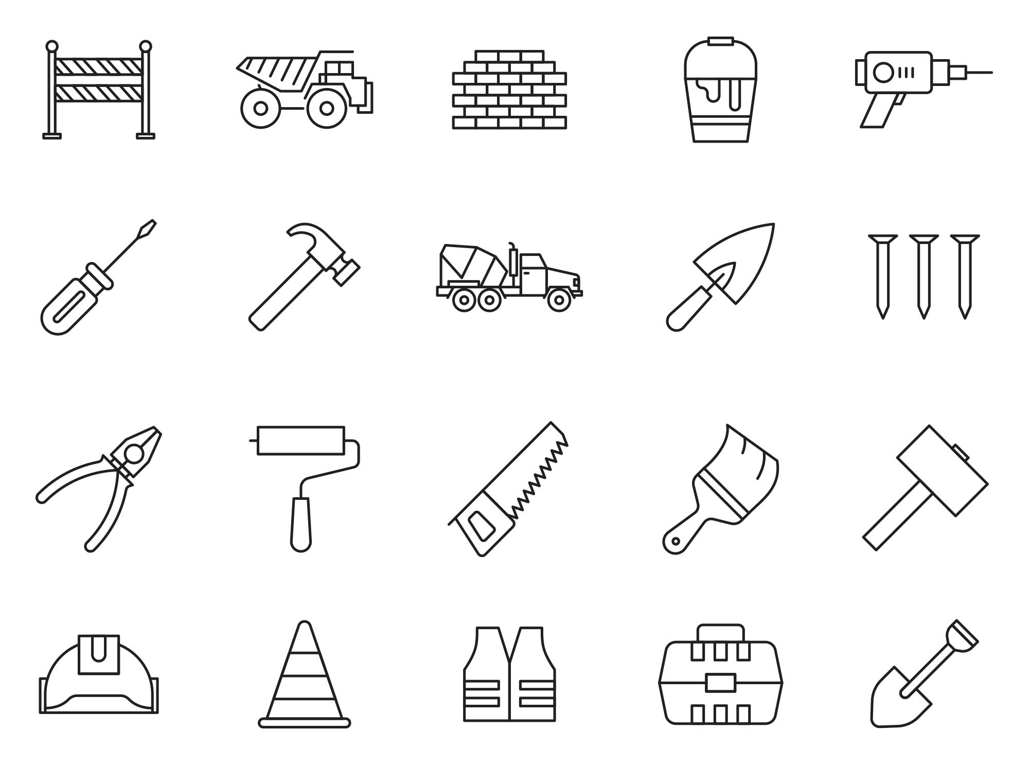 Constructions Icons 3