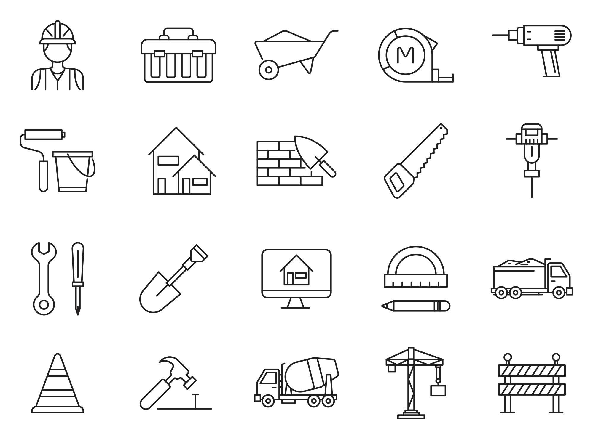 Constructions Icons