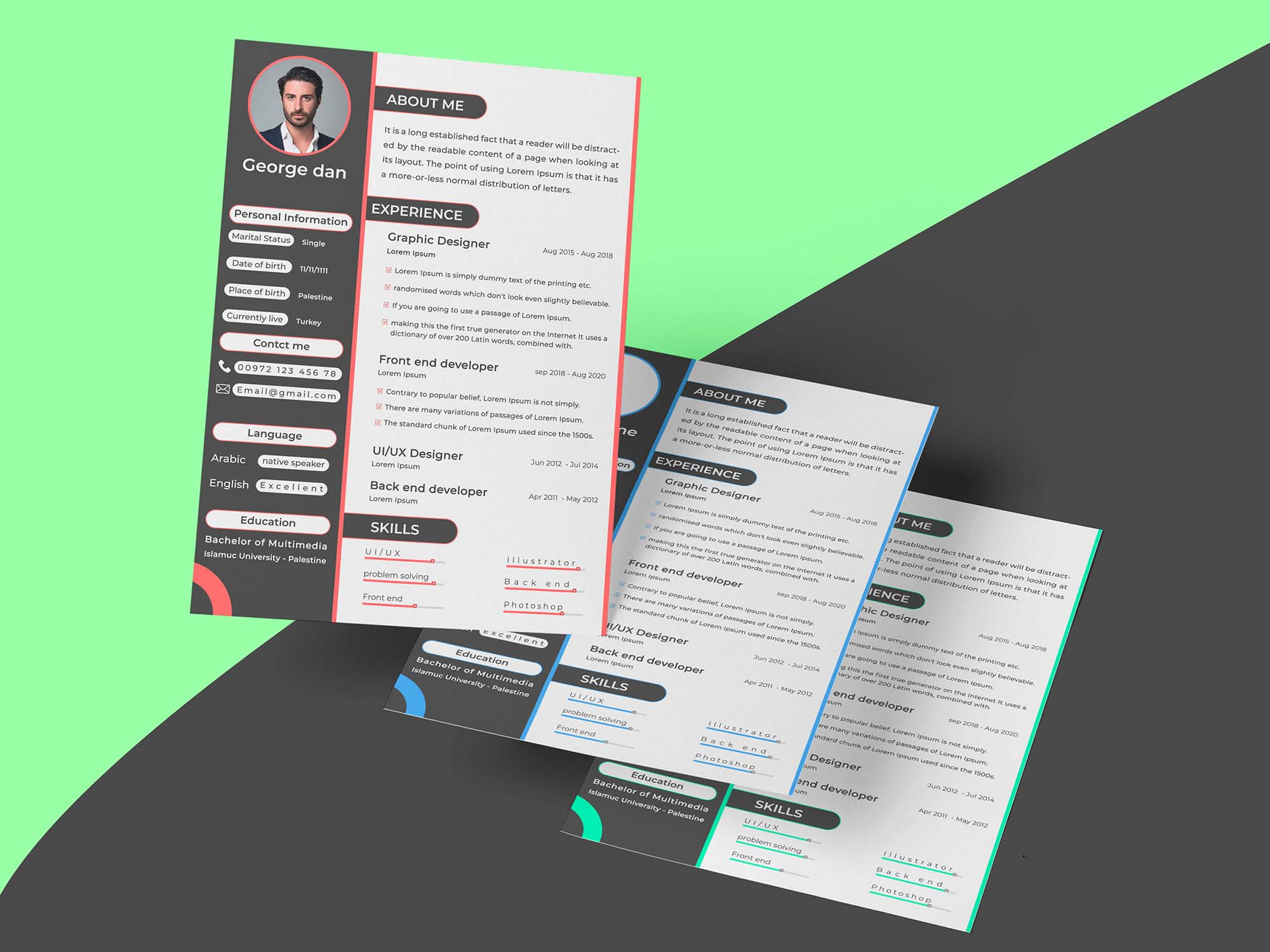 Creative CV Template 1