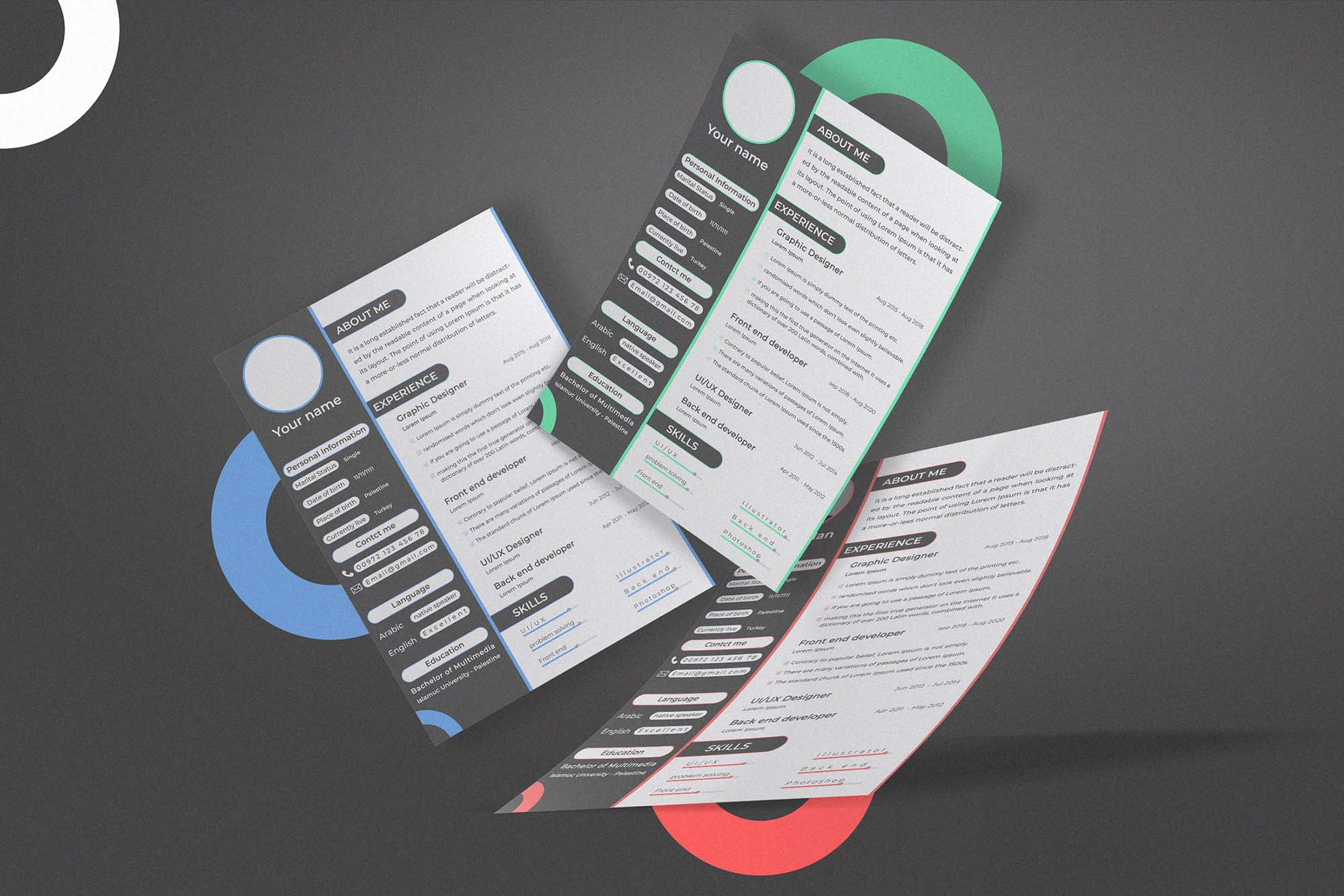 Creative CV Template 3