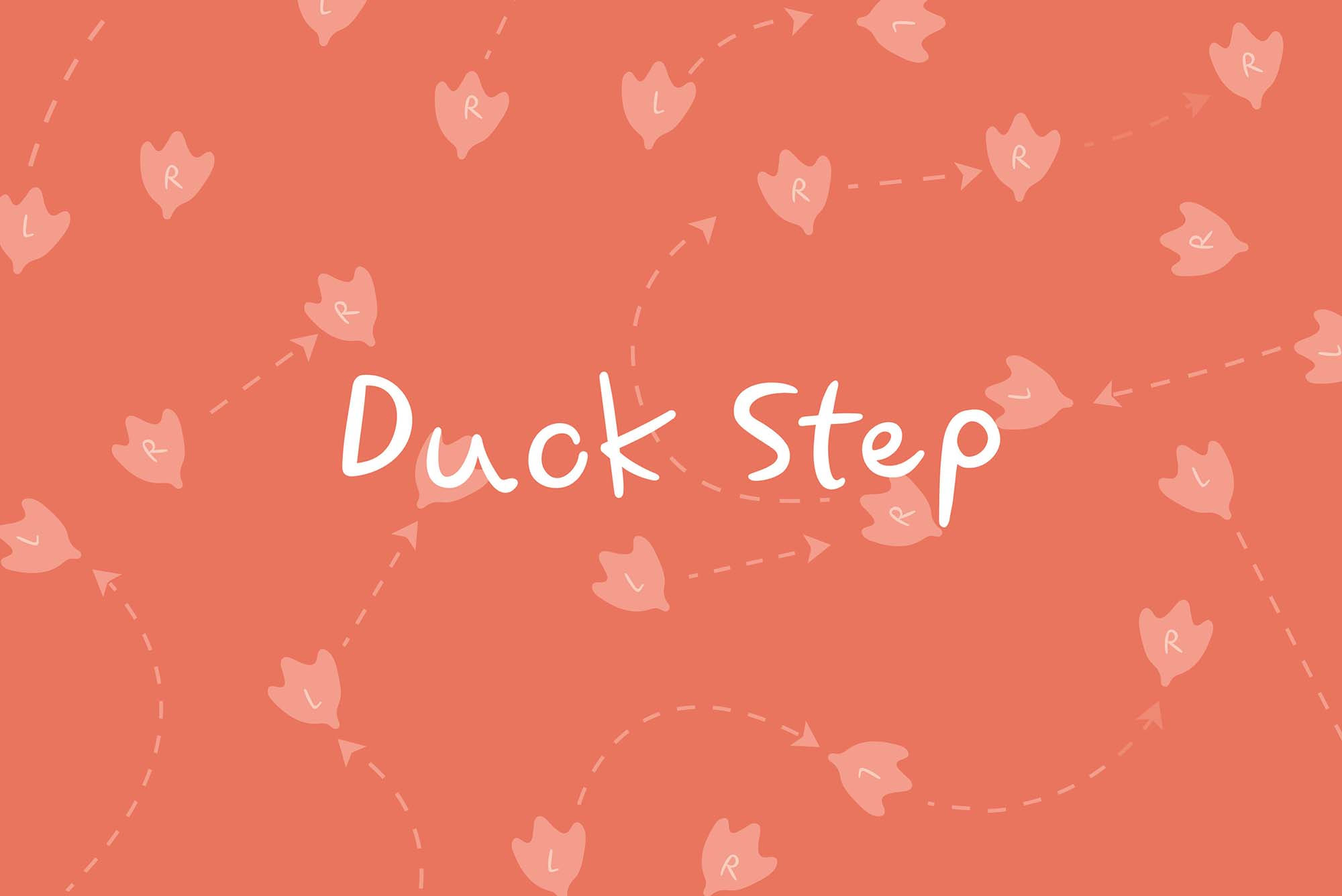 Duck Step Font 1