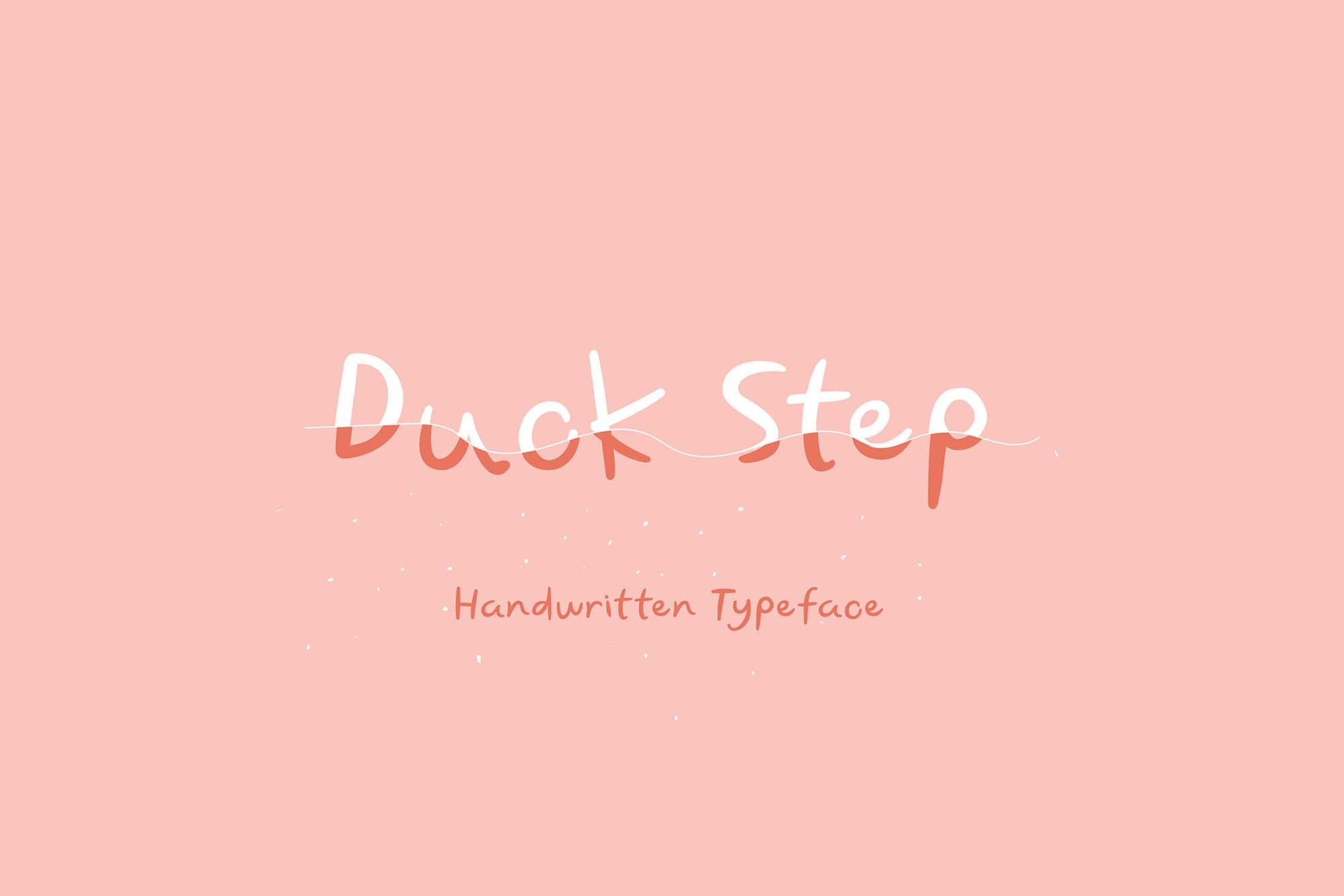 Duck Step Font