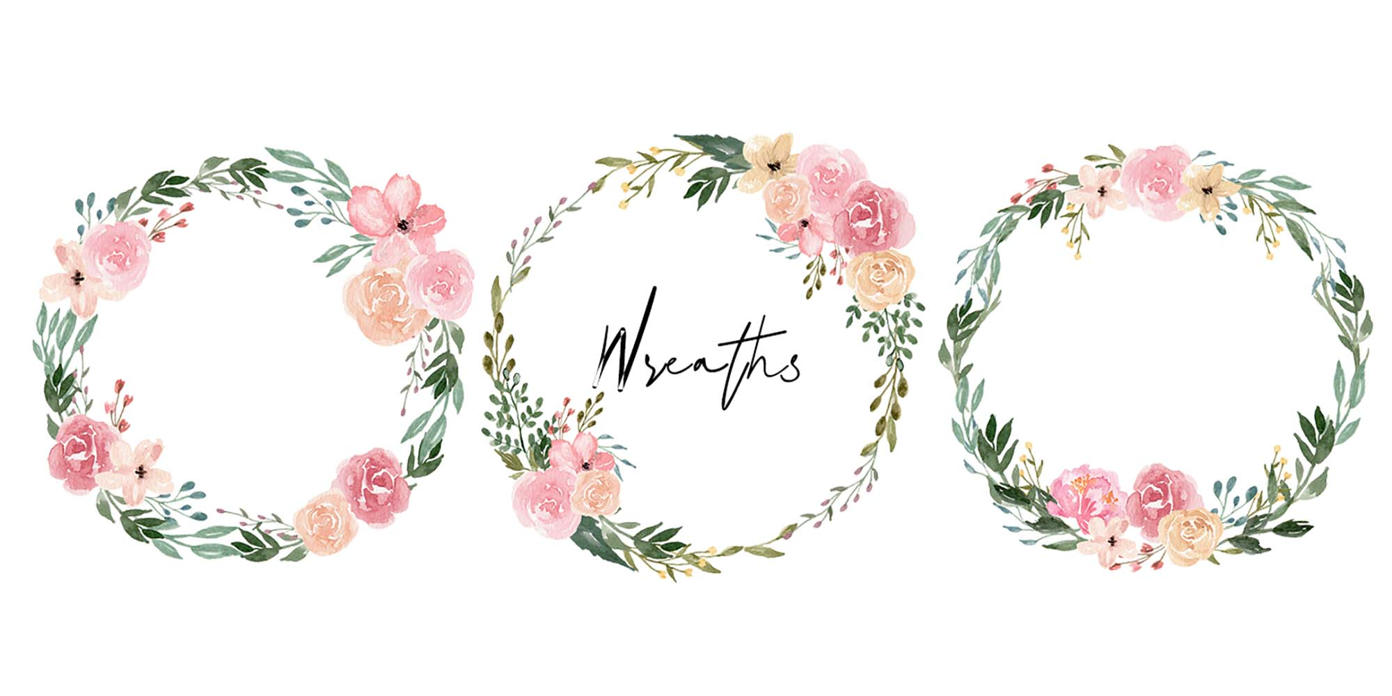 Dusty Blooms Watercolor Graphic Illustrations 4